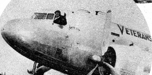 Stettner verifies Veterans Air Express 1945 history.