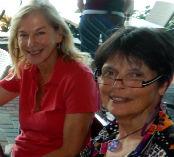 Ellen Stettner and Gaye Lyn