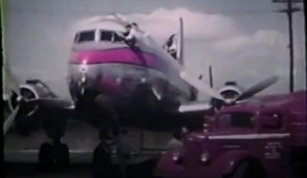 Film Footage of Veterans Air Express