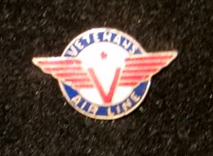 Veterans Air Line lapel pin of Charles Eason