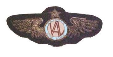 Handosme Veterans Air Line Captain Insignia worn on their uniform.