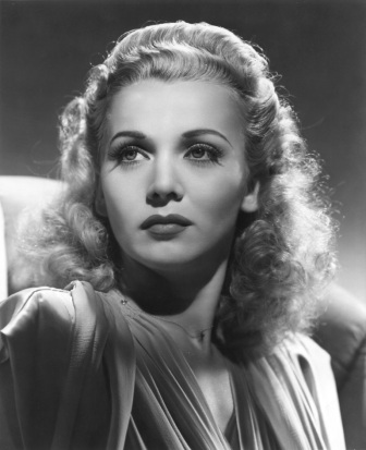 Carole Landis christened one of the DC-4's in the Veterans Air Line fleet.