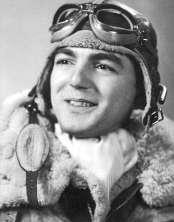 In the days prior to his being a Veterans Air Express Jack Z. Stettner founder & pilot. Pictured when he was Army Air Corps Captain Stettner.