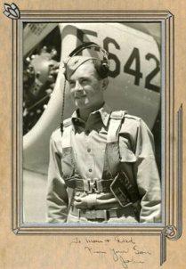 John W. Greenleaf, Sr., while still serving in World War II.