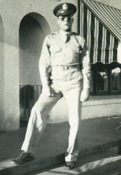 Robert Gries. WWII Navigator & later dual-role Navigator & Manager of Veterans Air Express.