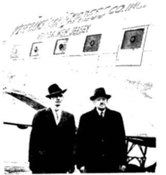 Veterans Air Express contract with UNRRA flown by Stettner, Jakeman, Noll, et al.