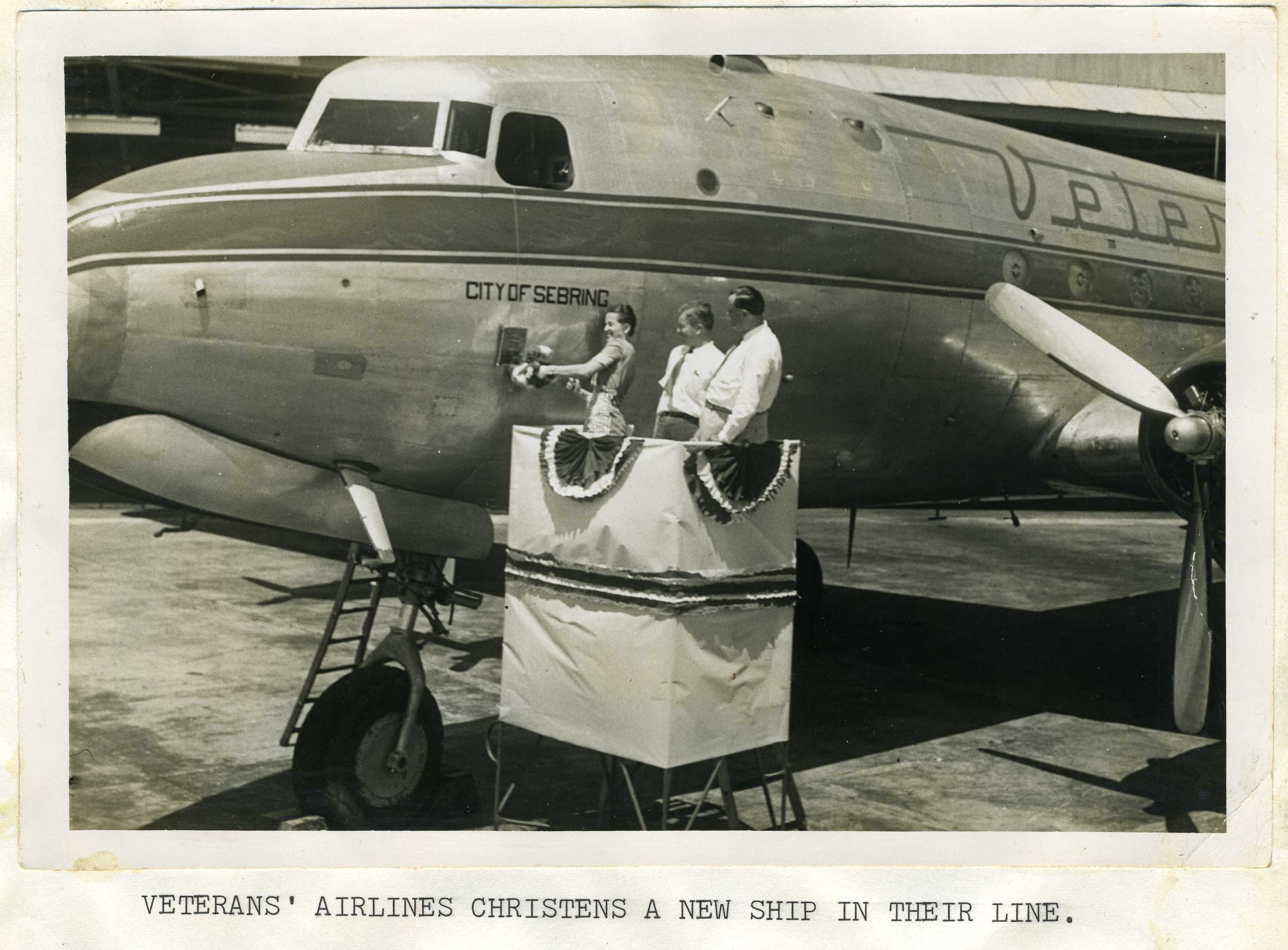 VAE's second DC-4 christened