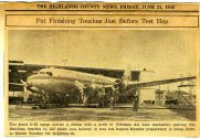 1946 Veterans Air Express operations base #2 sets up at Sebring Air Terminal