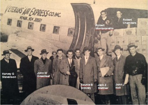 1946 Veterans Air Express Group Photo