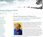 "A 2014 online article ""Cheering the 50th Anniversary of the Wilderness Act"" by author Michael Frome leads to contact with 1946 Veterans Air navigator Michael Frome."