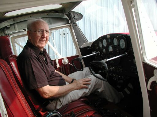 John Noll Veterans Air Aviator transitioned from DC-4s to Cessna 120 cockpits.