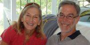 Ellen Stettner and Al Stettner. Daughter and son of Jack.