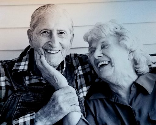 A photograph that deserves an award. Fabulous capture of Thomas and Loney Mae Cowart.