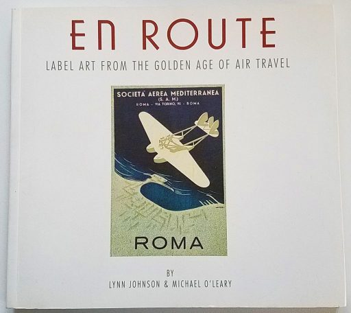 1993 book EN ROUTE honors Veterans Air Line logo art from 1946
