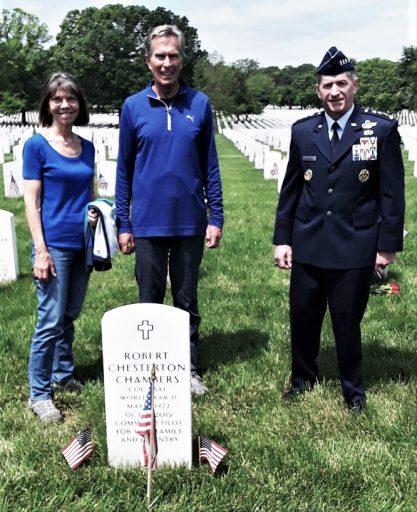 Chambers family memorable Arlington  Memorial Day.
